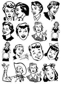 Retro 0 ideas about vintage clip art on