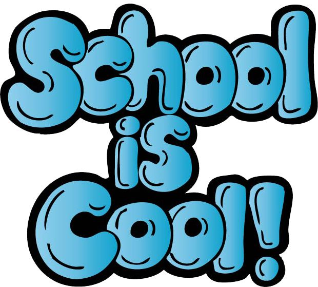 School is cool clip art school clipart image