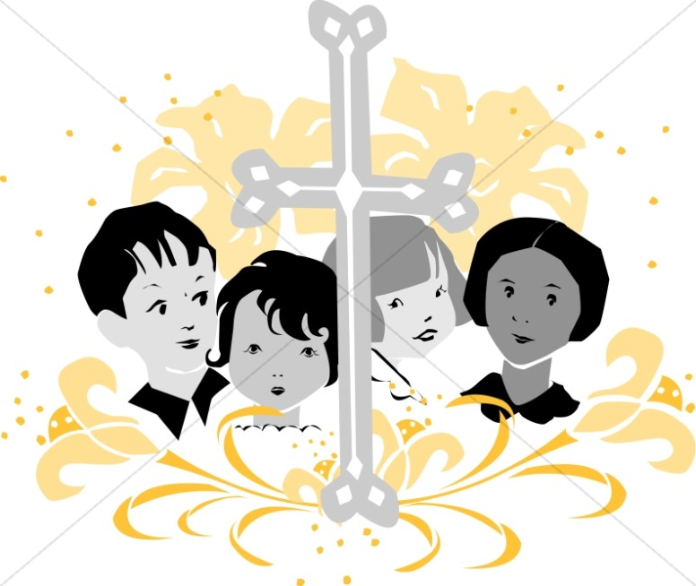 Youth choir clipart kids images sharefaith 2