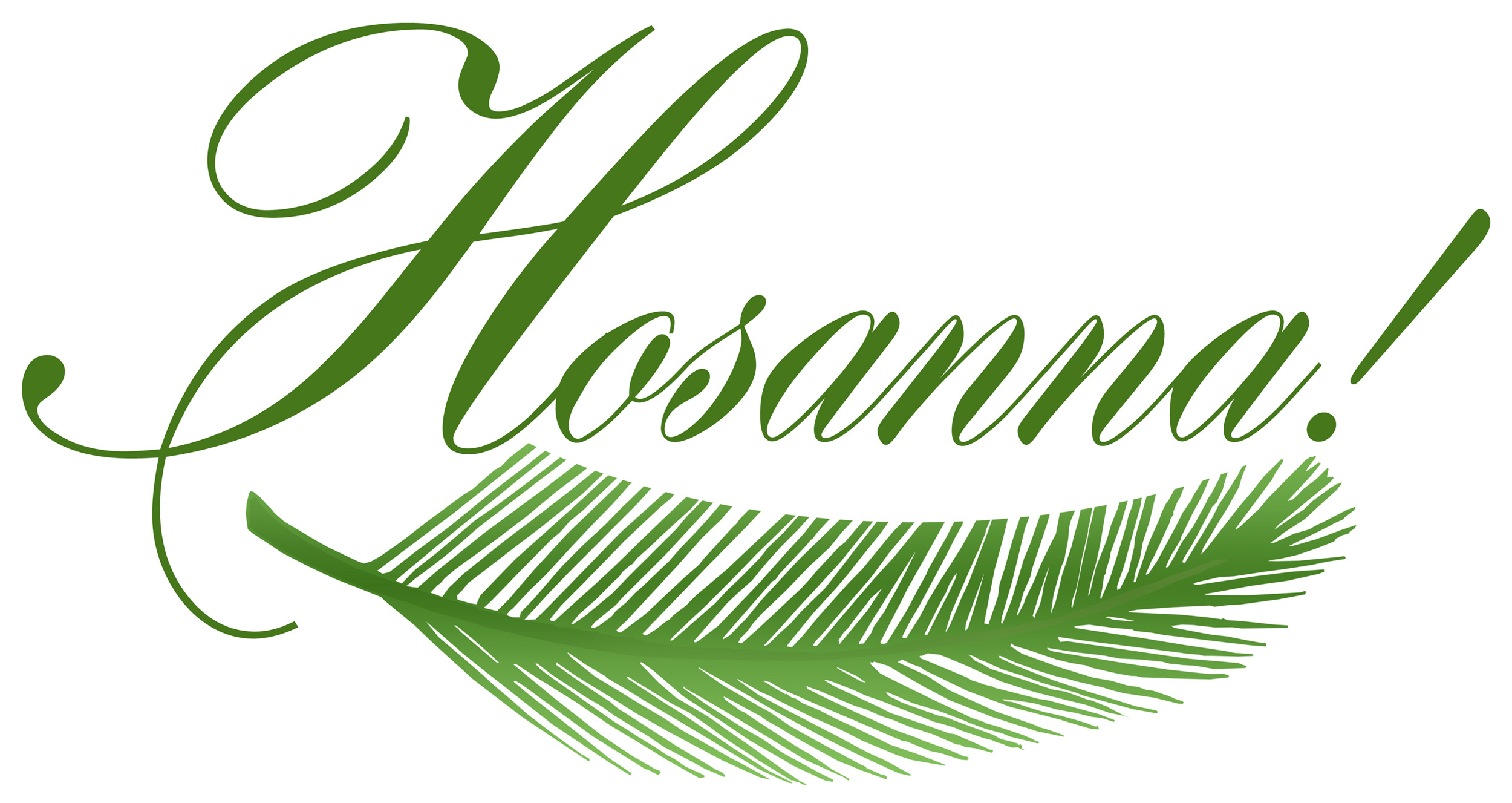 0 images about palm sunday on sunday palms clipart