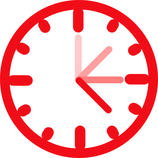 Awesome clock clip art at vector clip art