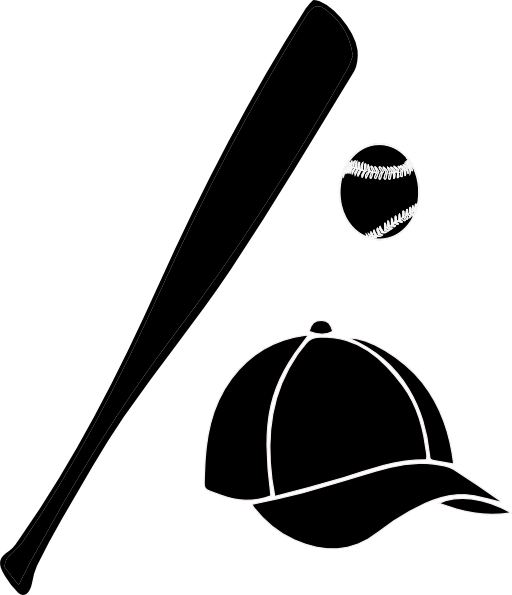 Baseball bat clipart 7