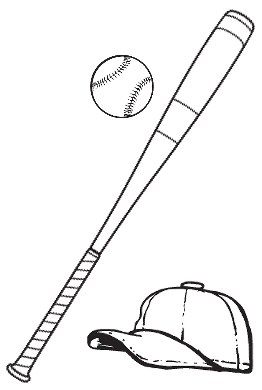 Baseball bat clipart 8