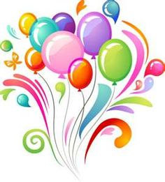 Birthday balloons balloons clip art and balloon bouquet on