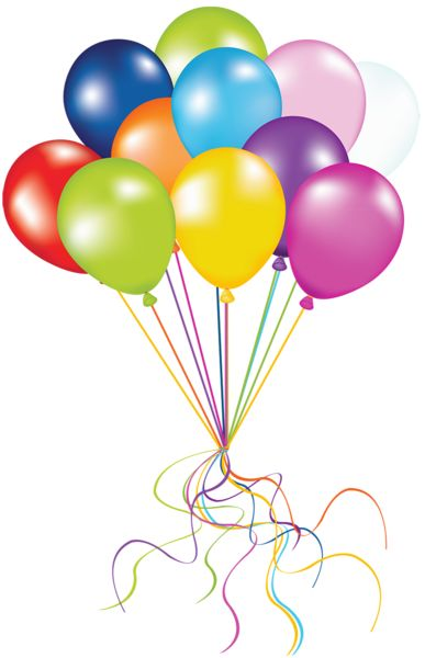 Birthday balloons balloons free birthday balloon clip art clipart images 3