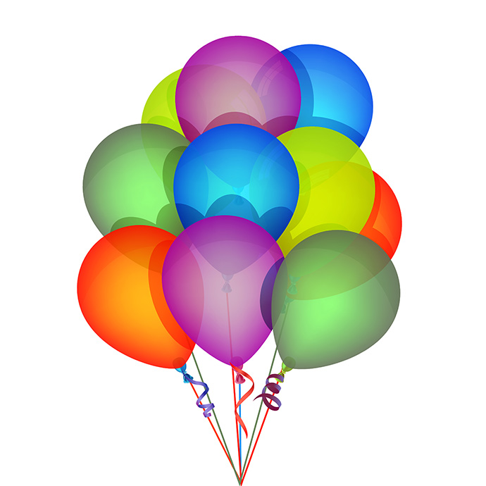Birthday balloons clip art clipart photo 3