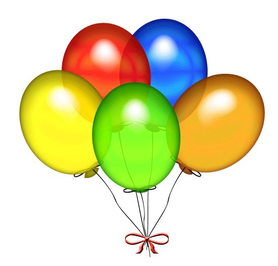 Birthday balloons free birthday balloon clip art clipart images 2