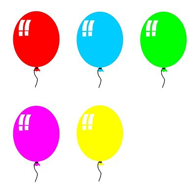 Birthday balloons free birthday balloon clip art free clipart images 4