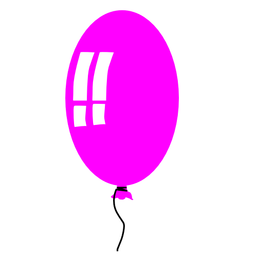 Birthday balloons free birthday balloon clipart holiday 2