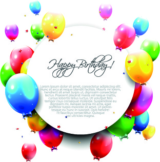 Birthday balloons free happy birthday balloon clip art free vector download 2