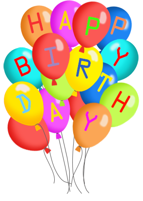 Birthday balloons free happy birthday balloon clipart clipartfest 3
