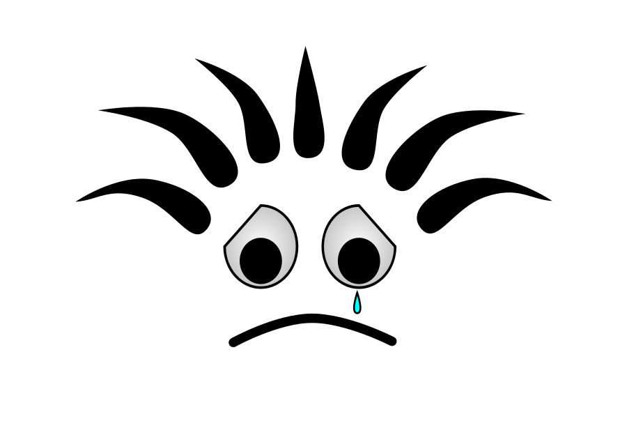Bob crying clipart vector clip art free design