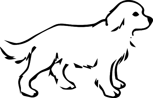 Cartoon dogs clipart image