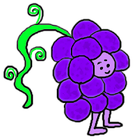 Clip art blueberry popsicle grape ice