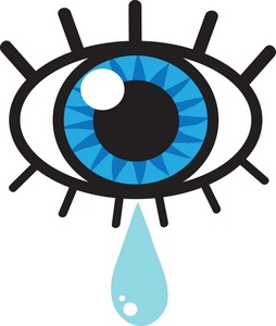 Crying clipart image eye