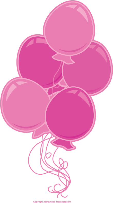 Free birthday balloons clipart 4