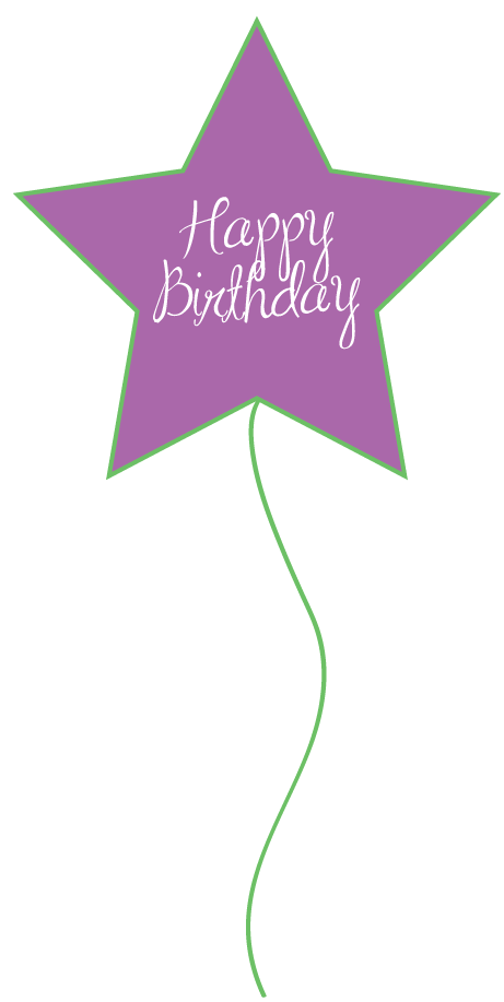 Free birthday balloons clipart for party decor websites signs 2