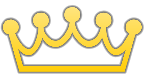 King and queen crowns clipart free images - Clipartix