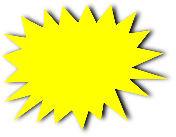 Free starburst clip art the cliparts