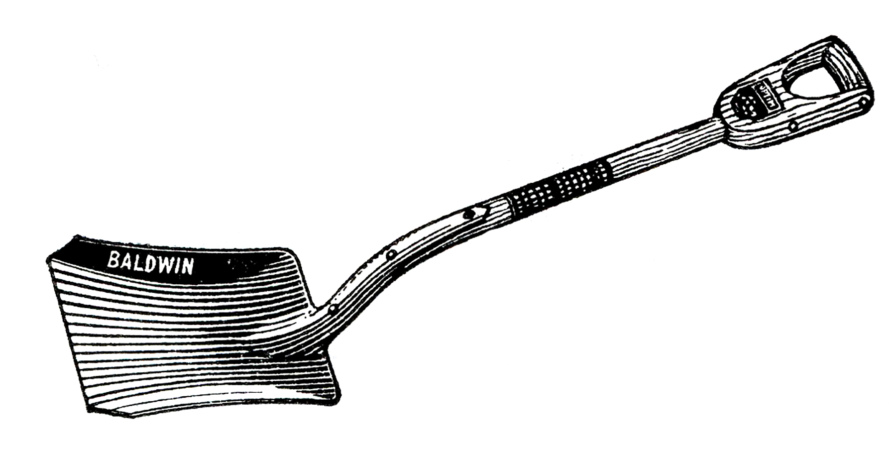 Free vintage shovel clip art images the graphics fairy 2