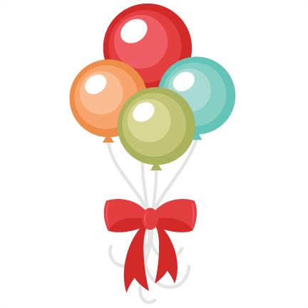 Happy birthday balloons clip art clipart