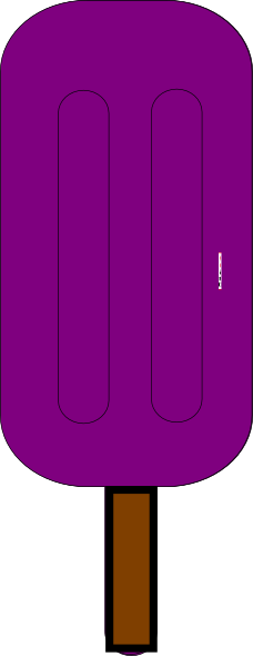 National grape popsicle clipart