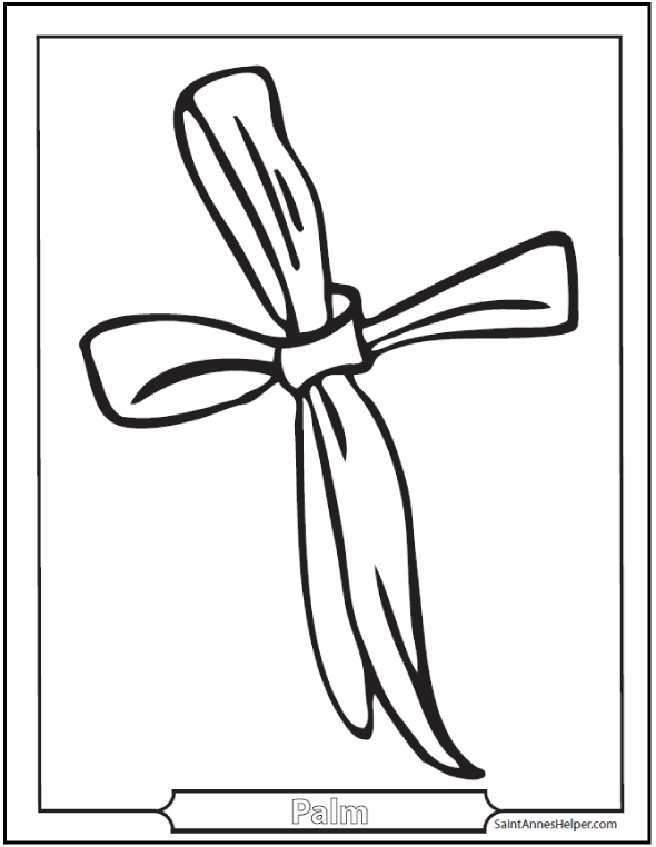 Palm sunday coloring pages jesus on the before easter clip art ...