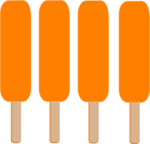 Popsicle clip art at vector image