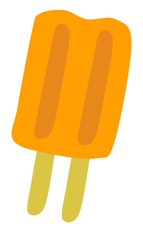 Popsicle free to use clipart