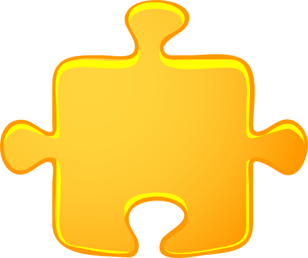 Puzzle cartoon clipart kid
