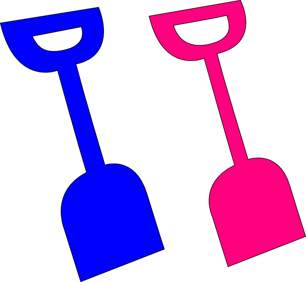 Shovel clip art at vector clip art