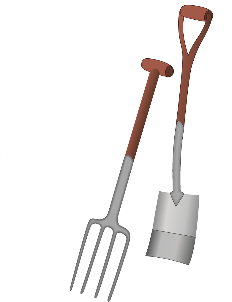 Shovel cliparts 3