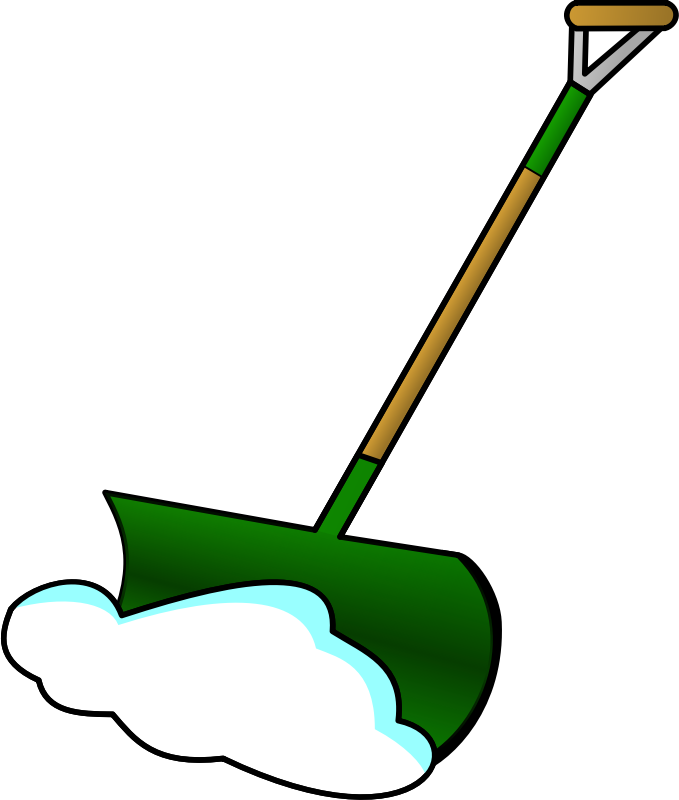 Shovel free to use clipart