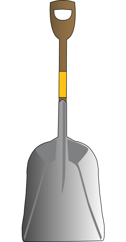 Shovel free to use cliparts