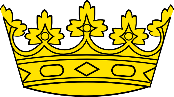 Simple crown outline free clipart images