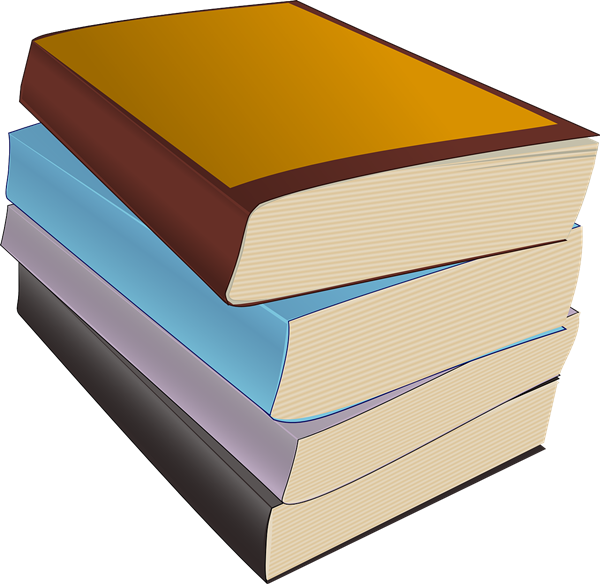 Stack of books free to use clipart