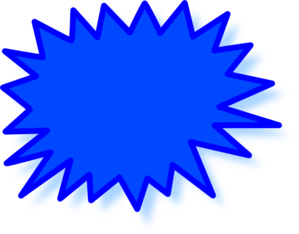 Starburst clip art high quality