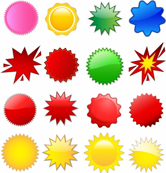 Starburst clipart free vector download 3 free for 3