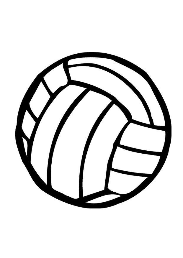 Volleyball clipart awesome and free volleyballurt central image