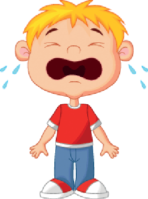 Young boy cartoon crying clipart the arts image pbs