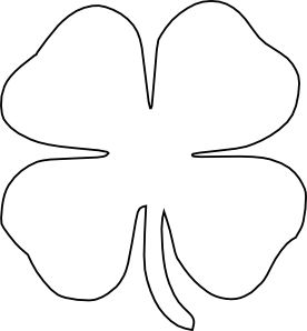 4 leaf clover 0 ideas about four leaf clover on clovers clip art