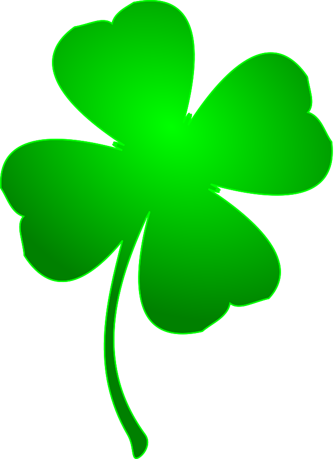 4 leaf clover clipart four leaf clover clipartfest