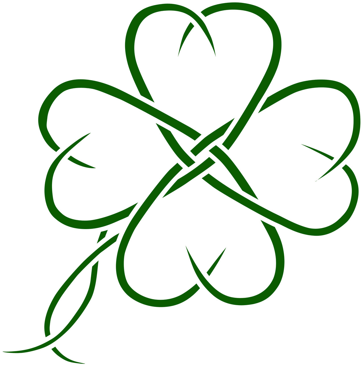 4 leaf clover four leaf clover art clipart