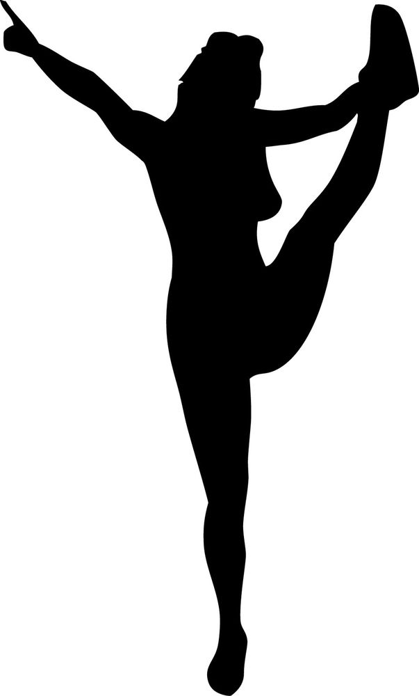 Art cheerleader clip cheerleading stunt clip art