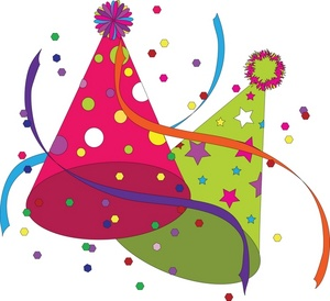 Celebration celebrate clip art black and white free clipart 3 4