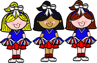 Cheerleader free cheerleading clipart clip art pictures graphics 2