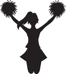 Cheerleading cheer clipart 2