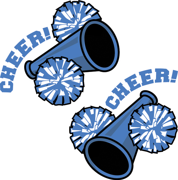 Cheerleading football cheerleader clipart 3