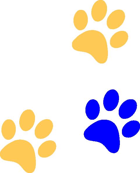 Cougar paw print clip art clipart 7