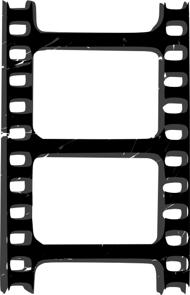 Film strip solo clip art at vector clip art